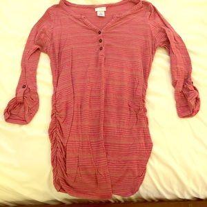 Motherhood Maternity Striped Shirt (5 for $15)